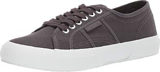 Superga Womens 2750 COTU Sneaker, Total Dark Grey, 6.5