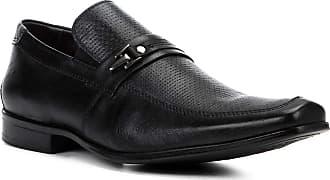e2fdde1bcc Shoestock Sapato Social Couro Shoestock Textura Fivela Masculino - Preto -  38