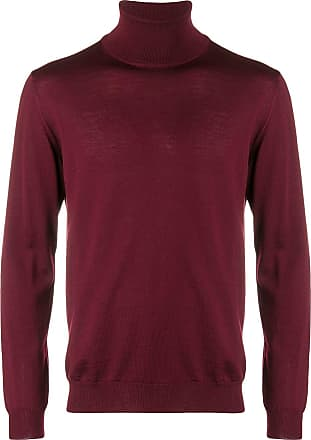 Zanone roll neck jumper - Red