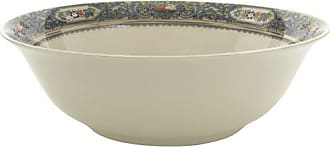 Lenox Autumn Gold-Banded Fine China Serving Bowl