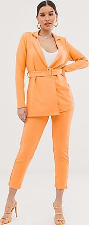 Missguided Kombiteil - Orangefarbene Hose in Zigarettenform
