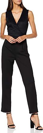 Vero Moda Womens Vmdora Sl Jumpsuit JRS Boo, Black (Black Black), 8 (Size: X-Small)