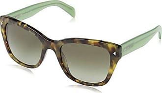 Prada 0Pr09Ss Uez4K1 54, Montures de Lunettes Femme, Vert (Spotted Brown  Green  ded33e6b351b
