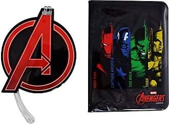 Zona Criativa Kit Viagem Tag e Passaporte Avengers