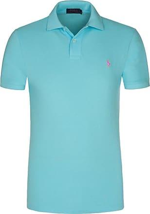Polo Ralph Lauren Poloshirt, Slim Fit von Polo Ralph Lauren in Aqua für Herren