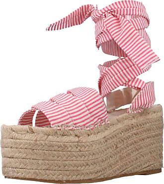 Yellow Women Sandals and Slippers Women Elaine Red 5.5 UK