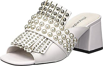 Silver 8 Ouvert Jeffrey Campbell White StEscarpins 00138 EU Lenoir FemmeBlancLeather Bout 0Nwnmv8