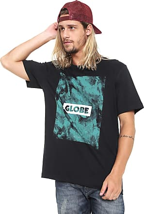 Globe Camiseta Globe Lettering Azul-Marinho
