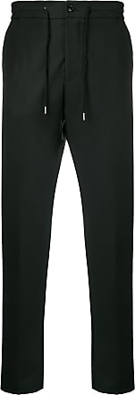 Berwich Calça reta com amarração - Preto