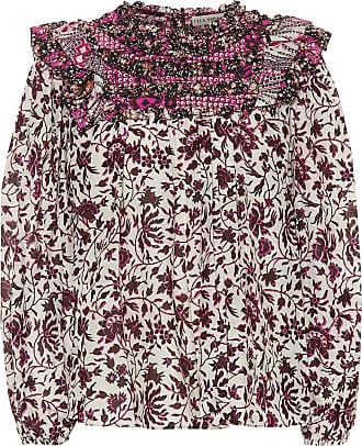 Ulla Johnson Dalma printed cotton and silk blouse