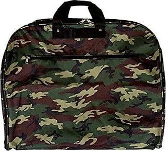 World Traveler 40 Inch Hanging Garment Bag, Green Camo, One Size