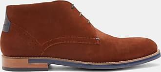 Ted Baker Suede Desert Boots in Dark Tan DAIIINO, Mens Accessories