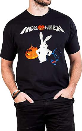 Bandalheira Camiseta Helloween Coelho Não Vem Fácil Bandalheira