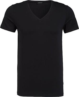 Hanro V-Shirt COTTON SUPERIOR - SCHWARZ