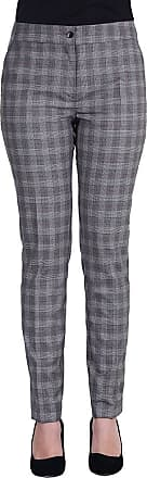 MySocks Regular Tailored Trousers Checked Grey