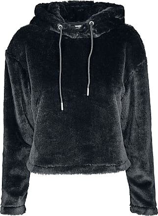 503ff1a364 Urban Classics Sweat À Capuche Court Sherpa - Sweat-shirt à capuche - pour  dames