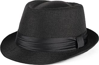 Hat To Socks Trilby Hat with Satin Black Band (black, S/M (56/57 cm))