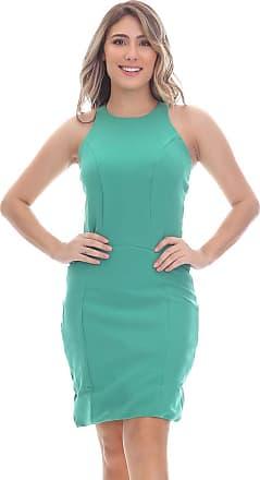 Clara Arruda Vestido Clara Arruda Costa Renda 50268 - P - Verde