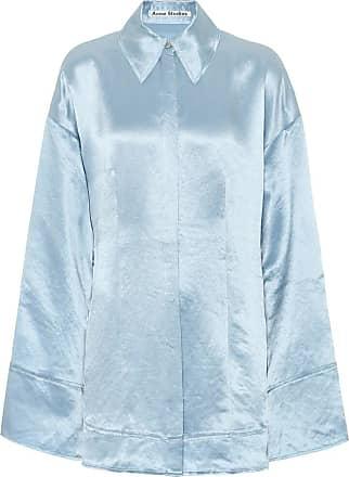 Acne Studios Oversized satin pajama shirt