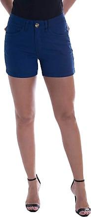 Osmoze Shorts Jeans Osmoze Angie Plus Mid Rise Z Azul 38