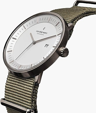 Nordgreen Philosopher - Gun Metal | Nylon Bohème - 40mm / Gun Metal