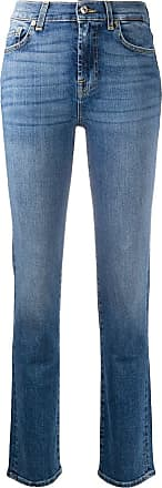 7 For All Mankind The Straight Soho Light jeans - Azul