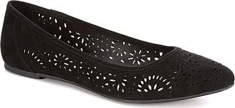 Xappeal Womens Adilene - Casual Ballet Flat Shoe Black Size: 7 UK