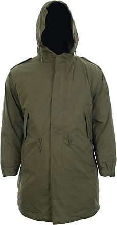 Mil-Tec US Shell Parka M51 Men Hooded (Olive/3XS)