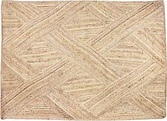 Venta-Unica.com Alfombra AKOLA - 100% yute - 160 x 230 cm - Natural