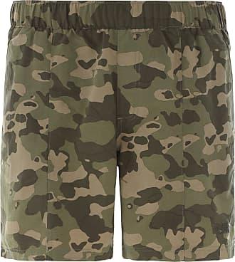 The North Face Class V Pull On Trunk Shorts Herren in burnt olive green ponderosa print, Größe S