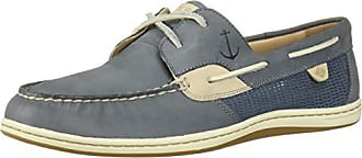 Sperry Top-Sider Womens Koifish Mesh Boat Shoe, Slate Blue, 080 M US