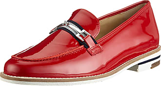 Ara Womens Kent 1231238 Loafer, Red Rot 05, 3.5 UK
