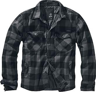 Brandit Lumberjacket Between-Seasons Jacket Black-Anthracite XL