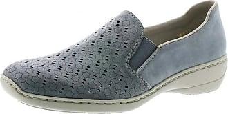 Rieker Belle Womens Casual Shoes 3.5/36 Denim