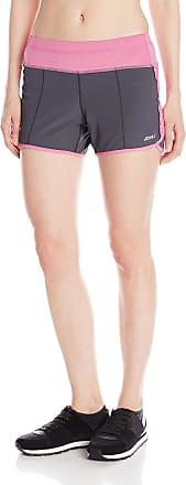 2XU Womens Cross Sport Shorts, Medium, Charcoal/Musk