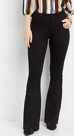 ad2b432b7 Maurices Everflex High Rise Black Stretch Flare Jean