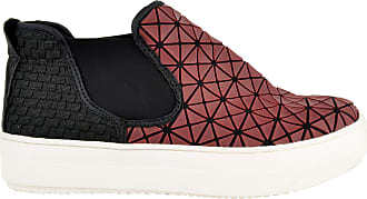 bernie mev. Womens Mid Axis Web Fashion Sneaker (Burgundy Web/White Sole, Numeric_8)