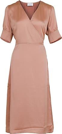 rosa klänning lång ärm
