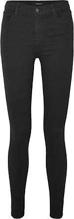 J Brand Photo Ready Maria High-rise Skinny Jeans - Black