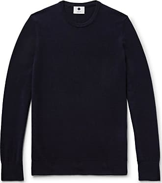 Nn.07 Charles Slim-fit Cashmere Sweater - Midnight blue