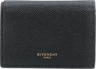 Givenchy Carteira preta de couro granulado - Preto