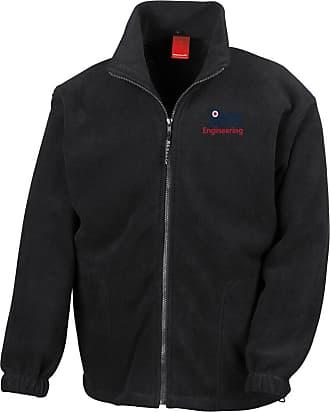Military Online RAF Engineering Logo - Official Royal Air Force Full Zip Heavyweight Fleece Jacket
