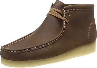 7003ad6182be9d Clarks Wallabee Boot, Bottes Chukka Homme, Marron (Beeswax Leather), 41 EU