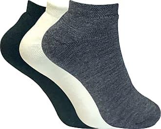 12 Pairs Trainer Socks Black White Womens Ankle Liner Summer Gym Sports  4-7 UK