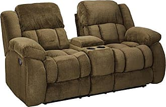 Coaster Fine Furniture Weissman Pillow Padded Motion Sofa Chocolate