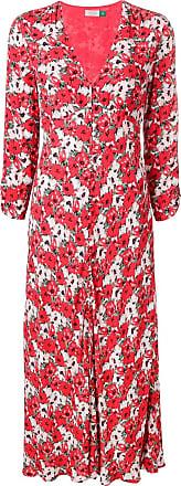 Rixo Katie floral dress - Vermelho