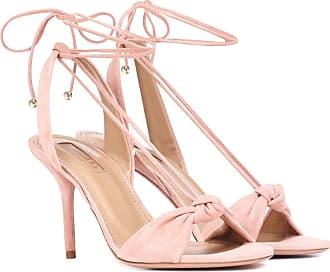 Aquazzura Virginie 85 suede sandals
