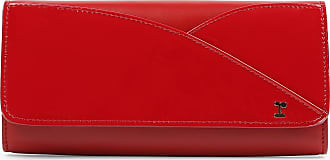 347c40c0768 Repetto Portefeuille - Cuir de veau vernis et cuir de vachette Rouge flamme