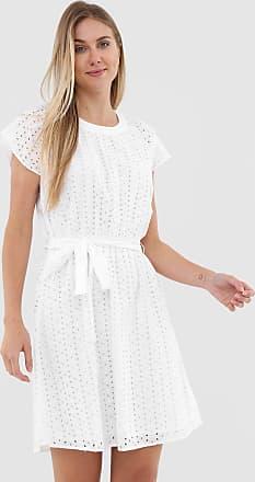 GAP Vestido GAP Curto Laise Branco