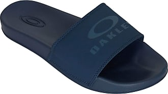 Oakley Mens Ellipse Slide Flip Flop Sandals - Universal Blue - UK 7.5